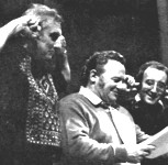 The Goons - Spike Milligan, Harry Secombe and Peter Sellars at work