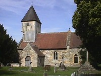 Tredington church - click to enlarge