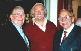 Tommy Sampson, Ron Simmonds and Stan Reynolds
